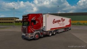 Combo Skin Scania R4 & SCS Trailer Skin for Euro Truck Simulator 2