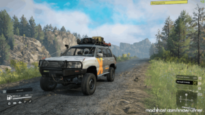 Toyota Land Cruiser 105 V1.0.1 for SnowRunner