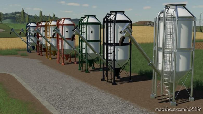 Placeable Refill Silos for Farming Simulator 19