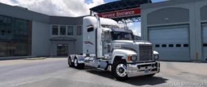 Mack CHU613 Truck V2.3 [1.37] for American Truck Simulator
