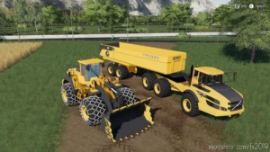 Volvo Mining Pack for Farming Simulator 19