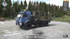Kamaz 44108 Truck V08.07.20 for MudRunner