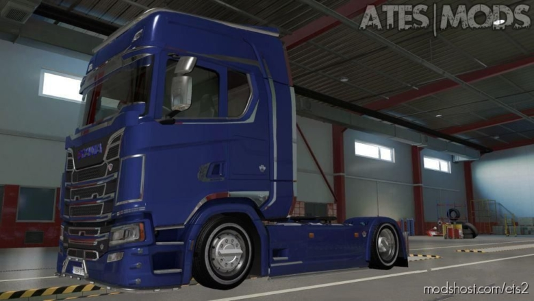 Pony Tire Mod for Euro Truck Simulator 2