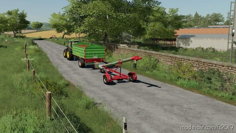 Canagro 926 Vt-Hk for Farming Simulator 19