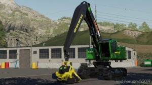 John Deere 959MH Tracked Harvester V2.0 for Farming Simulator 19