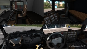 Iveco Stralis & MAN TGX Interiors [1.38] for Euro Truck Simulator 2