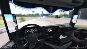 Mirror Cams For Nextgen Scania R/S [1.38] for Euro Truck Simulator 2