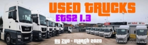 Used Trucks [1.37 – [1.38] for Euro Truck Simulator 2