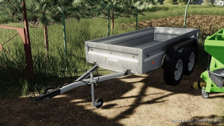 Lizard CAR Trailer Tandem for Farming Simulator 19