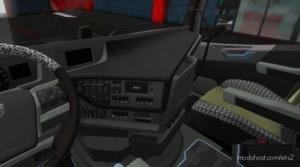 Black Interior For Volvo FH16 2012 for Euro Truck Simulator 2