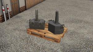 Fendt Gewicht 870KG for Farming Simulator 19