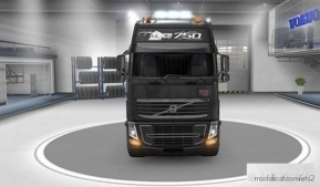 "Volvo Pendragon 2009 Paint JOB ""25 Years"" [1.37] for Euro Truck Simulator 2"