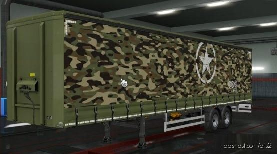 Skin Military Truck Version [1.35 – 1.37] for Euro Truck Simulator 2