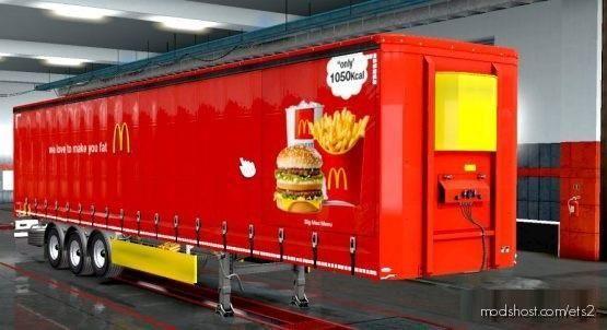 Skin Mcdonald's Version 1.35 To [1.37] for Euro Truck Simulator 2