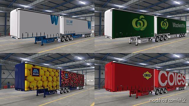 Aussie Supermarket Pack for Euro Truck Simulator 2