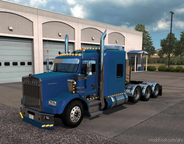 T800 Highhood Custom Truck [1.38] for American Truck Simulator