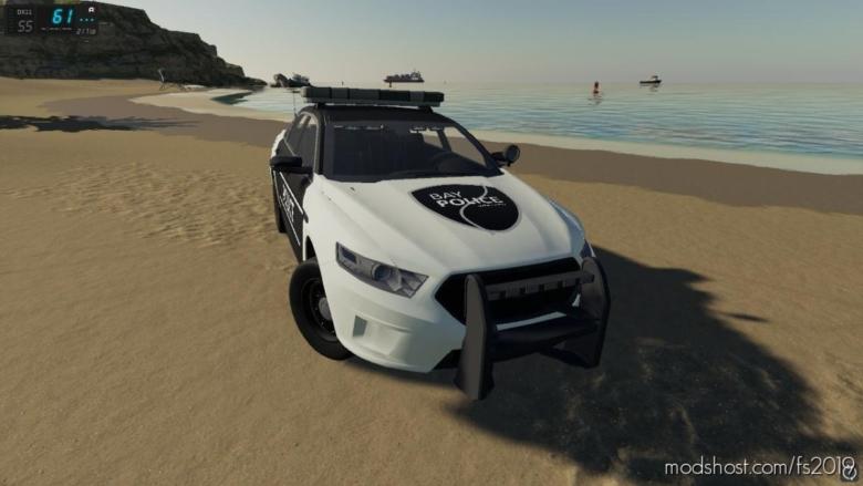 Ford Taurus Police Interceptor V1.3 for Farming Simulator 19