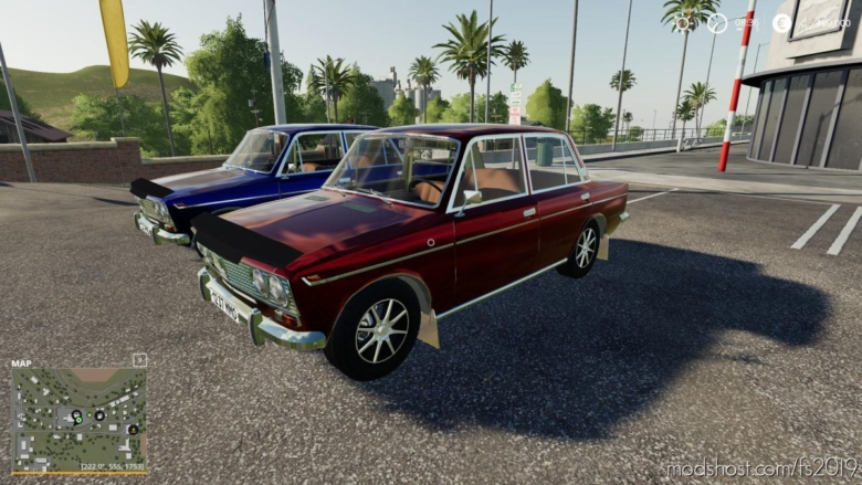 VAZ 2103 8/5000 VAZ 2103 V2.0 for Farming Simulator 19