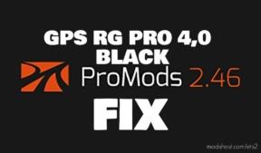 GPS RG PRO V4.0 Black Promods V2.46 FIX for Euro Truck Simulator 2