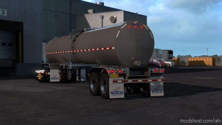 Tremcar 3A Sanitary Trailer V1.4 [1.38.X] for American Truck Simulator