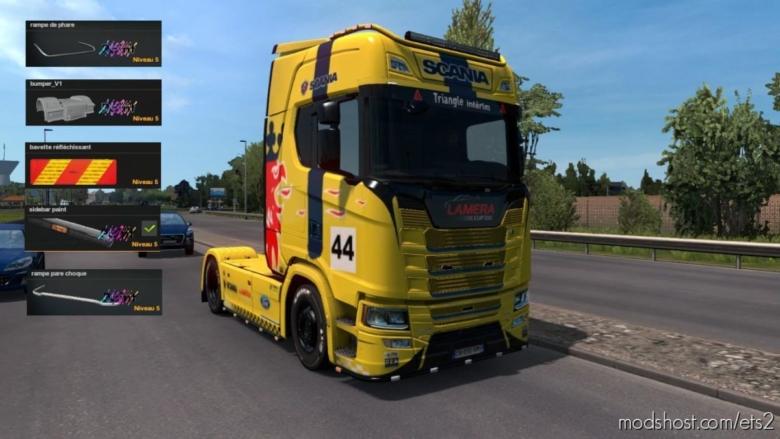 Skin Lamera CUP Edition + Piece Tuning [1.37] for Euro Truck Simulator 2
