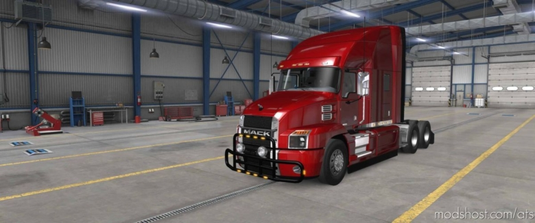 Bullbars For SCS Mack Anthem for American Truck Simulator