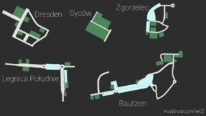 Szlak Buwka V0.5 For Fikcyjna Polska 1:5 [1.37.X] for Euro Truck Simulator 2