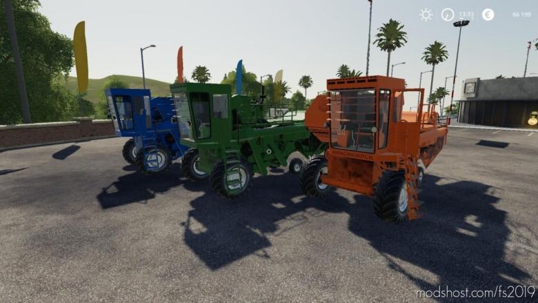 Yenisei 1200-1 V2.0 for Farming Simulator 19