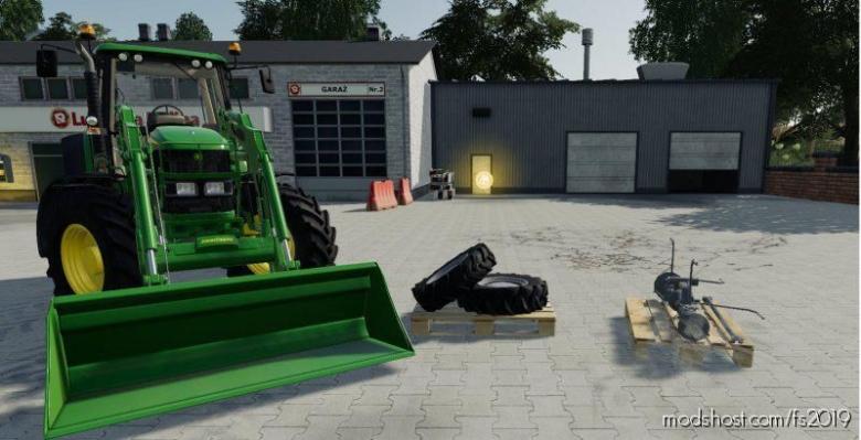 4X4 Przedni Naped DO Ursus C360 for Farming Simulator 19