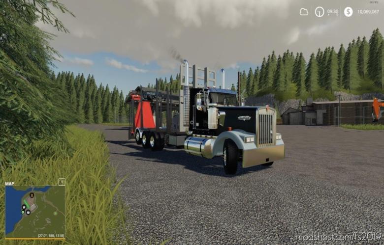 W900 Rear Mounted Loader for Farming Simulator 19