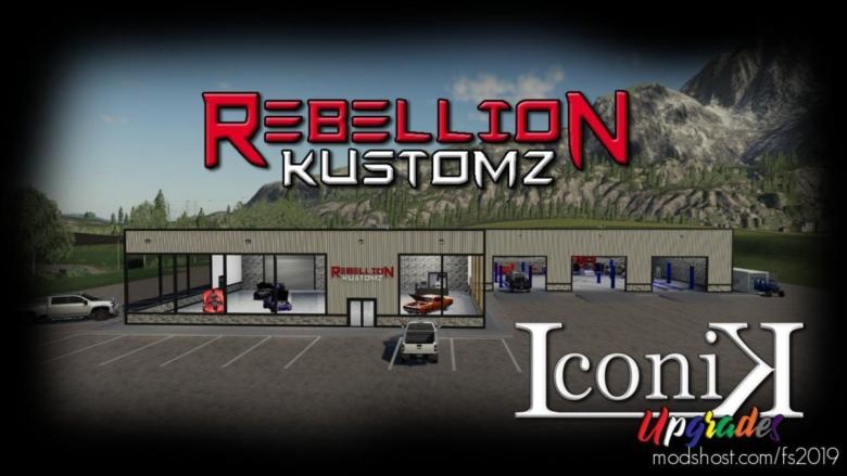 Rebellion Kustomz for Farming Simulator 19