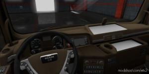 MAN TGX Brown Interior [1.37 – 1.38] for Euro Truck Simulator 2