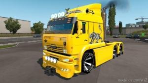 Kamaz 6460 Turbo Diesel V8 13.07.2020 [1.38] for Euro Truck Simulator 2