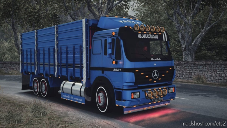 Mercedes Benz 2521 Unlocked [1.37] for Euro Truck Simulator 2
