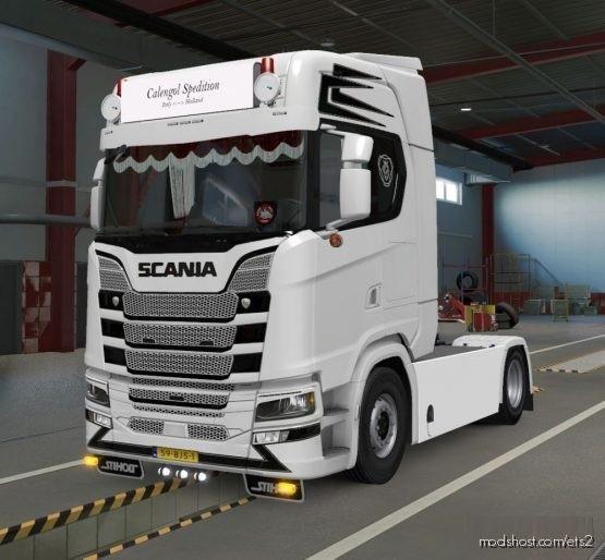 Skin For Scania S Next GEN for Euro Truck Simulator 2