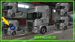 Italian Style Skin Pack + Custom Skin Template for Euro Truck Simulator 2