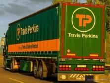Skin ON Your Semitrailer Travis Perkins for Euro Truck Simulator 2