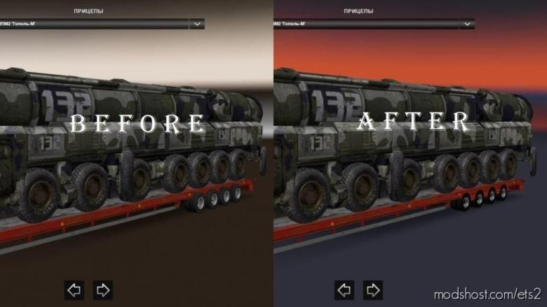ROS Trailer Wheels FIX for Euro Truck Simulator 2