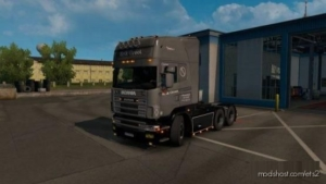 Erik Groot Metallic Skin For Scania R4 By RJL for Euro Truck Simulator 2