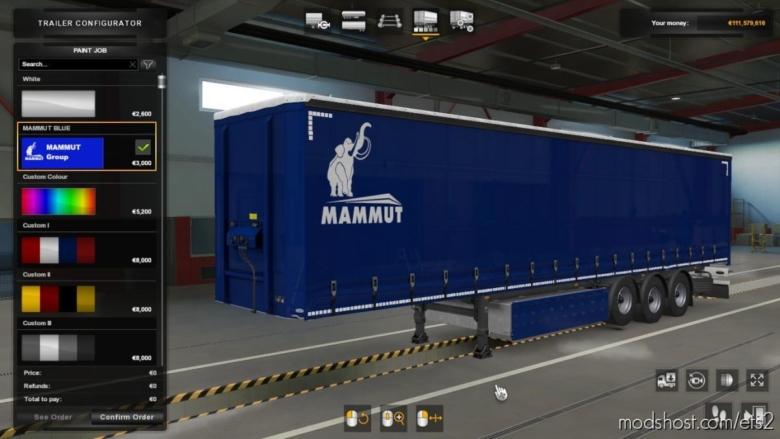 Mammut Pack Skin [1.37] for Euro Truck Simulator 2