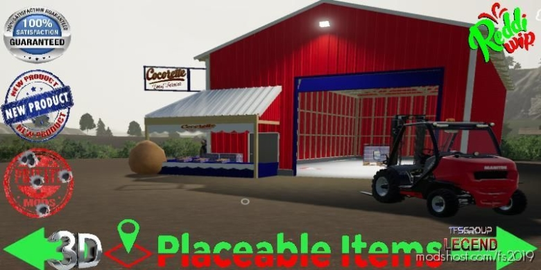Cocorette EGG Sale V1.5 for Farming Simulator 19