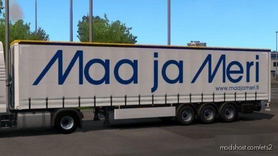 MAA JA Meri Trailer for Euro Truck Simulator 2