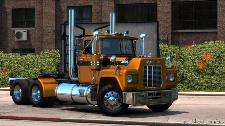 Mack R Series Truck V1.5 [1.38.X] for American Truck Simulator