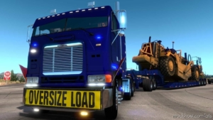 Freightliner FLB Truck ATS V2.0.8 [1.38] for American Truck Simulator