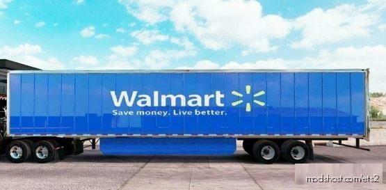 Walmart Trailer [1.35 – 1.37] for Euro Truck Simulator 2