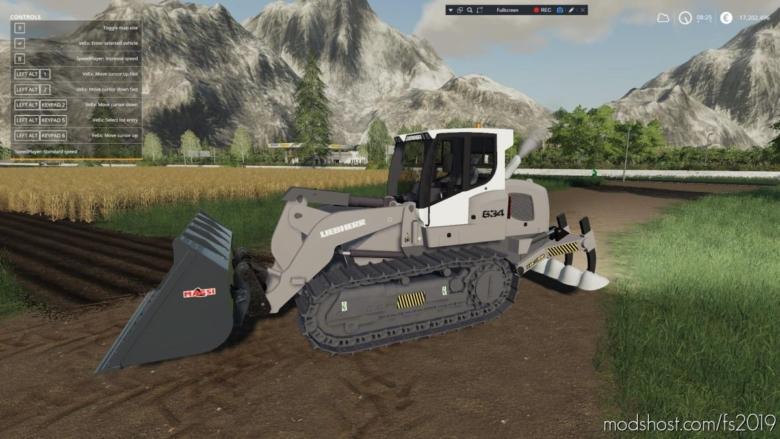 Liebherr 634 Ripper Edition + Atachable Ripper for Farming Simulator 19
