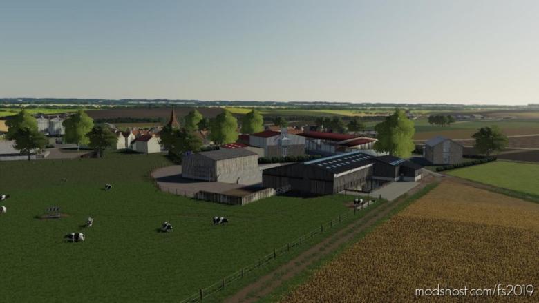 LA Beauce Map V1.1 for Farming Simulator 19