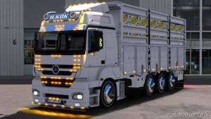 Mercedes Axor 3240 Reel V2.0 for Euro Truck Simulator 2