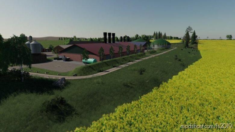 Langwedel Map for Farming Simulator 19
