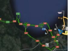 Riga Metro Area Rebuild V0.1 for Euro Truck Simulator 2